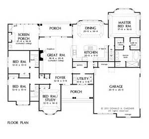 Open Floor Ranch House Plans Open Floor Plan Ranch Home Decorating Diy