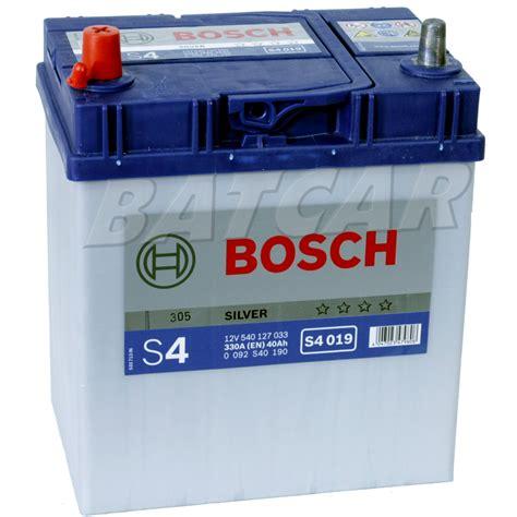 Schaltung Motorrad Rechts Oder Links by Bosch Silver S4 019 40 Ah 40ah 330a En Asia Links