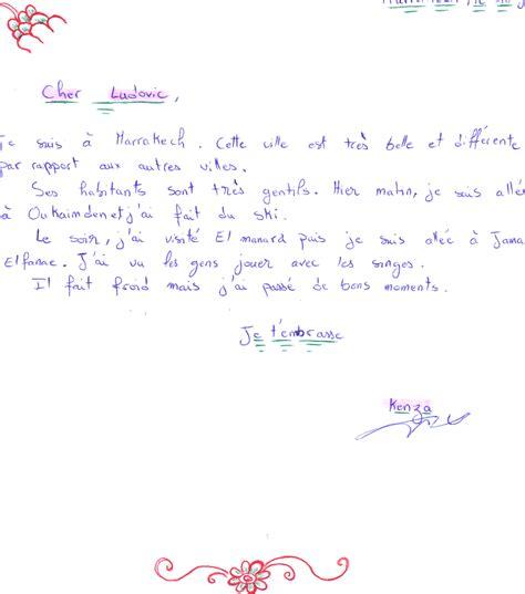 Exemple De Lettre En Vacances Ecrire Une Lettre De Voyage Le Fle Avec Ludovic