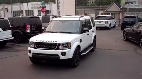 land rover lr4 white 2016 2016 land rover lr4 youtube