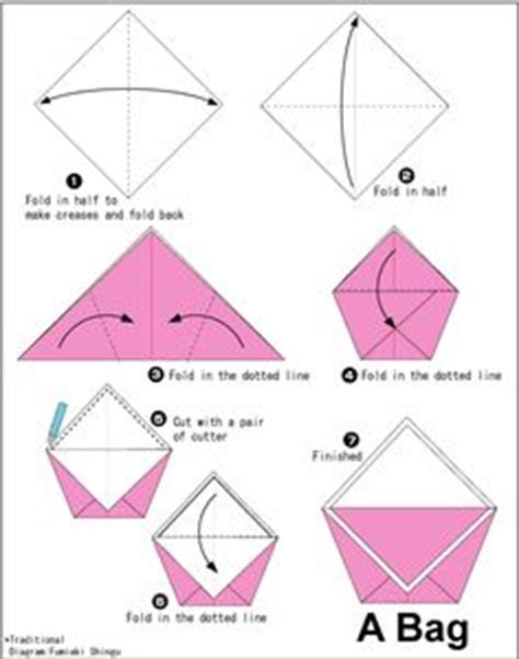How To Make A Simple Paper Bag - thousands of ideas about origami bag on