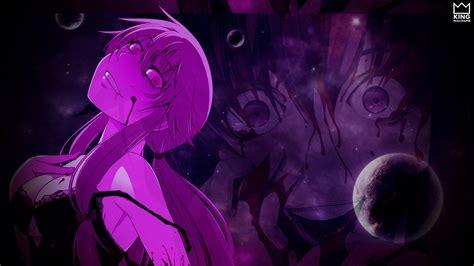 wallpaper anime mirai nikki mirai nikki wallpaper by kingwallpaper on deviantart