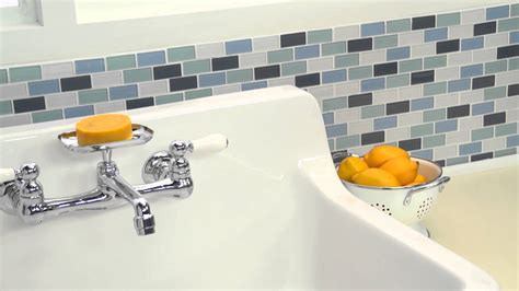 heritage wall mount kitchen faucets by american standard