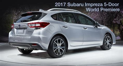 2017 subaru impreza hatchback moment of 2017 subaru impreza production vs concept