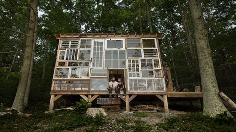 house made of gold house made of windows house made of gold diy cabin
