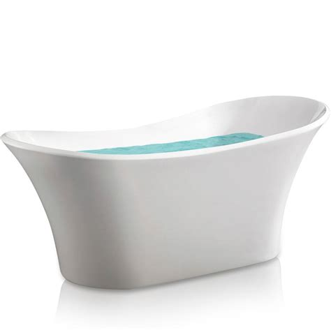 amazon bathtubs akdy az f274 bathroom freestand acrylic bathtub white