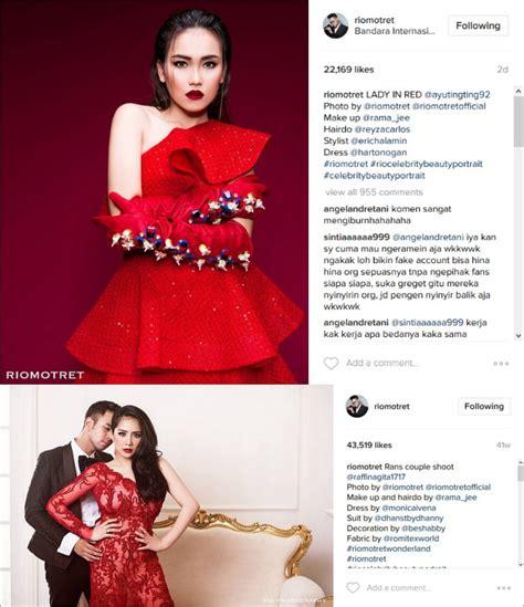 Atasan One Shoulder Nagita Slavina ayu ting ting pakai gaun merah netizen bandingkan dengan