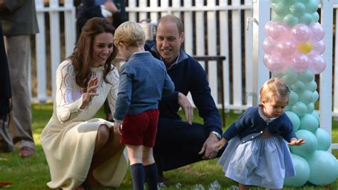 the play of george prince george and princess charlotte party it up in canada
