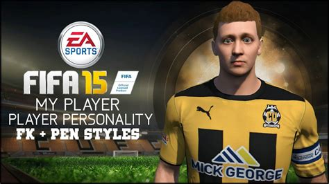 players with unique hair styles in fifa 15 fifa 15 my player personality free kick penalty