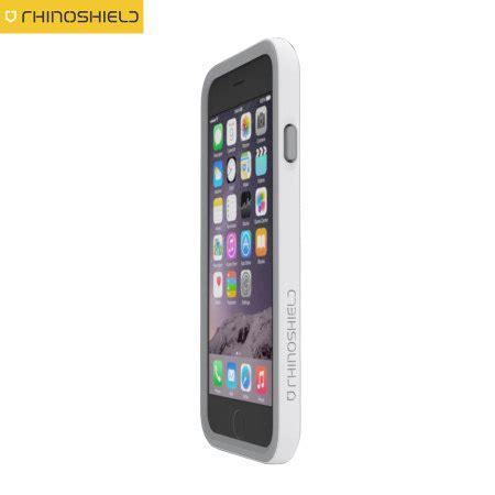 rhino shield crash guard iphone 6s 6 bumper white mobilezap australia