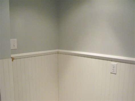 basement bathroom reno continues 30 months later - Beadboard Cap Molding
