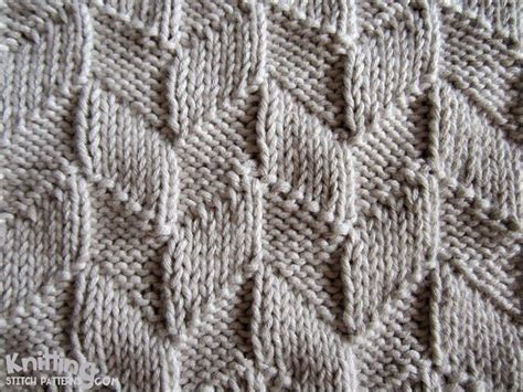 knitting design this easy design uses only the knit k and purl p