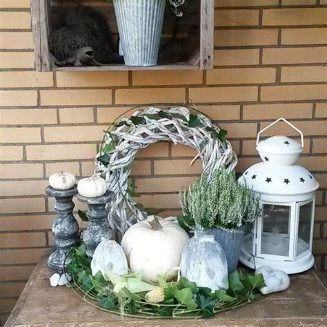 Herbstdeko Fenster Weiss by Sch 246 Ne Herbstdeko In Wei 223 Quelle Mona Moony Id 233 Er