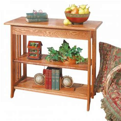 sofa table unfinished oak bookshelf table kit