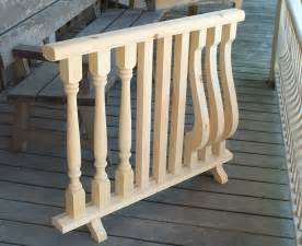 Wood Porch Balusters porch wood post turning and railing products ontario gta toronto verandah