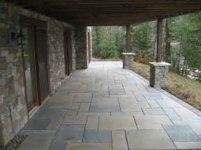 Concrete Patio With Pavers Concrete Paver Patios 171 Defranco Landscaping