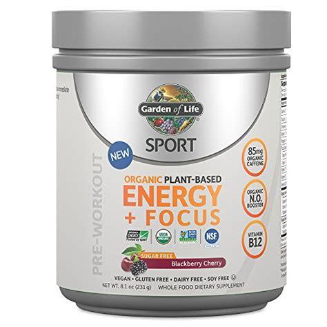 Garden Of Sport Energy And Focus Cutler Nutrition Legend Pro Blueberry Lemon 10 58