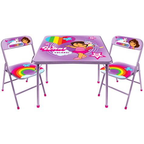 spongebob activity table and chair set the explorer activity table and chair set