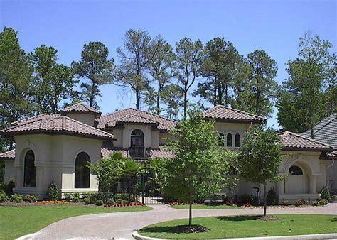 Mediterranean Villa Style House Plan #134 1373: 4 Bedrm