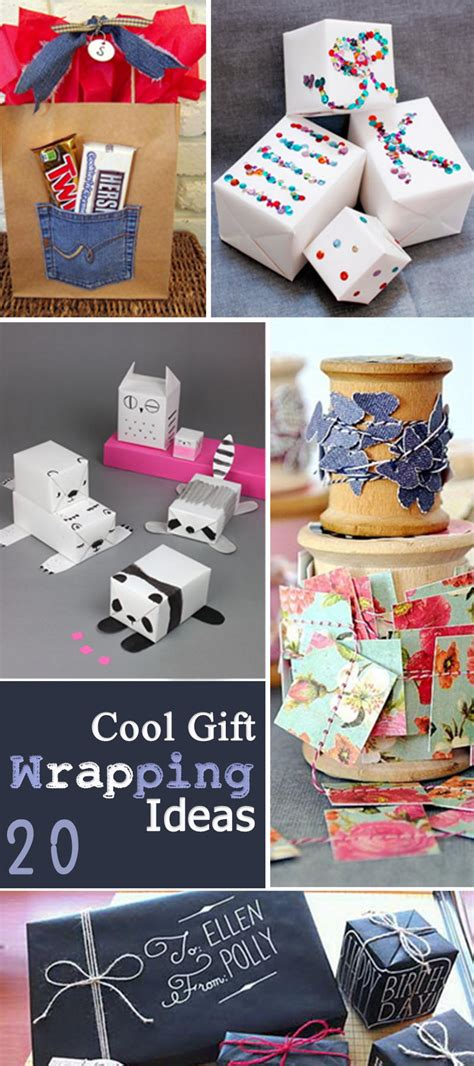 100 cool gift wrap ideas christmas wrapping parties