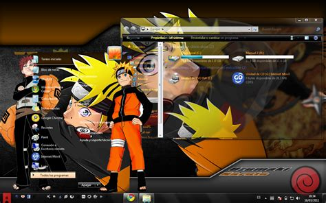 tema naruto themes tema for windows 7 quot naruto quot by espectra16 on deviantart