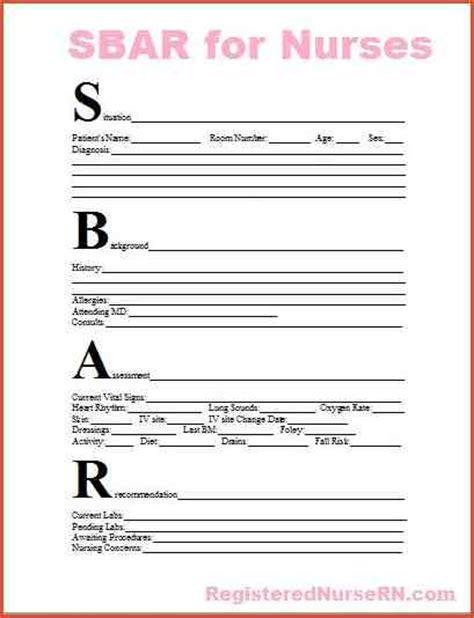 Sbar Template Word sbar template word 110714f3a2e43fa7c5b3709417f0182e jpg