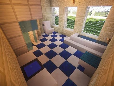 minecraft how to make bathroom 25 best ideas about modern minecraft houses on pinterest