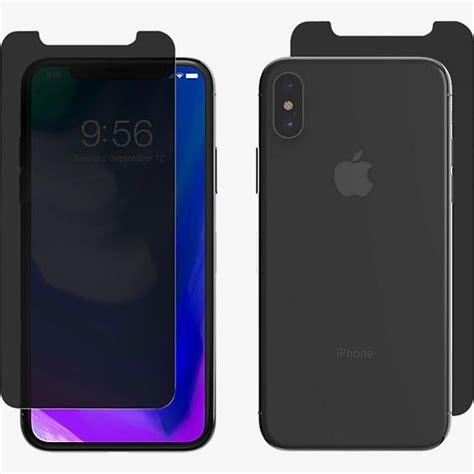 zagg invisibleshield privacy glass for iphone xs x verizon wireless