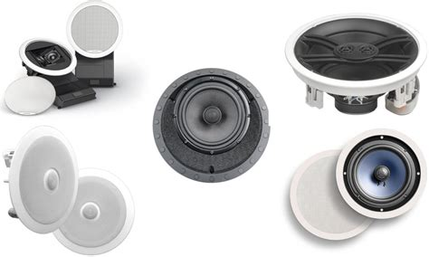receiver for ceiling speakers 5 in ceiling home theater speakers reviewed ecoustics