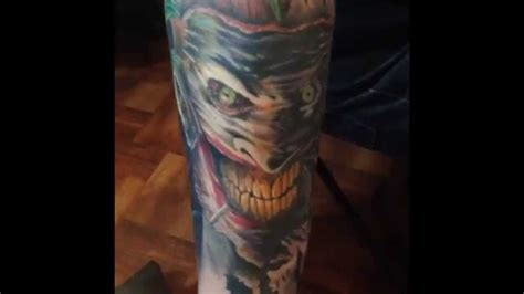my batman and joker tattoo youtube