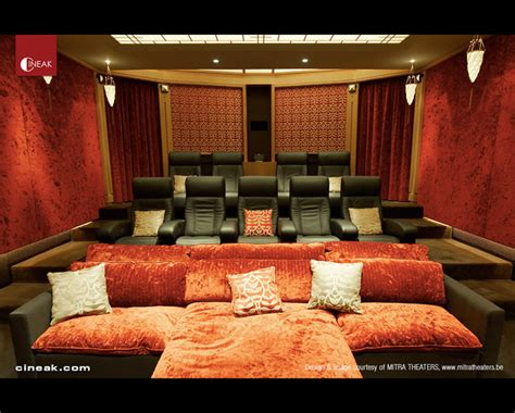 theater room furniture cineak intimo fortuny luxury home theater modern home theater san francisco by cineak