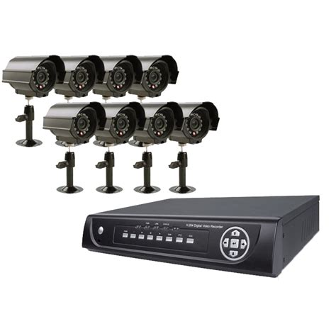 Vonnic Dk1608cd 16 Channel Dvr With 8 Sony Ccd Cameras