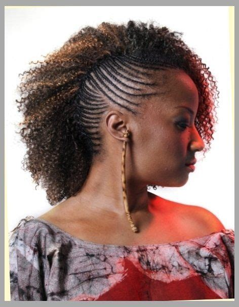 cornrow hairstyles with weave cornrows on one side weave on the other home