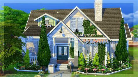 sims house building parenthood lp bungalow sims 4 house building youtube