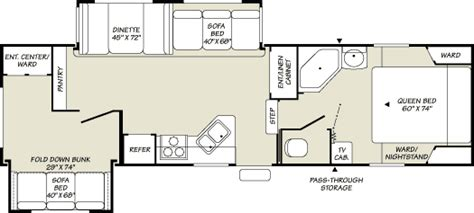 terry fifth wheel floor plans 2007 fleetwood terry resort fifth wheel rvweb com