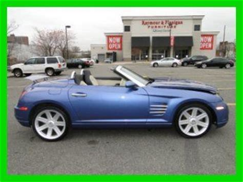 motor repair manual 2006 chrysler crossfire roadster electronic throttle control sell used 2006 chrysler crossfire limited 3 2l v6 manual convertible repairable rebuilder in
