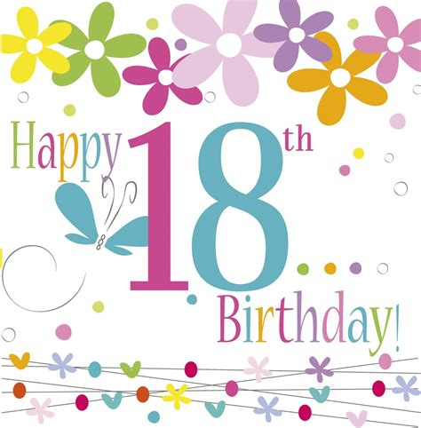 Happy Birthday by Fc18 Happy Birthday Age 18 Design