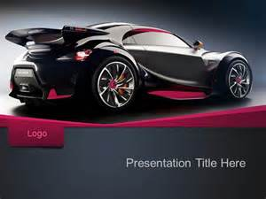 Car Powerpoint Template by Free Sport Car Ppt Template