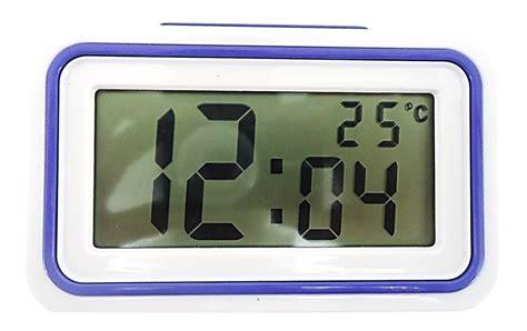 sveglia digitale da comodino orologio sveglia parlante italiano digitale temperatura