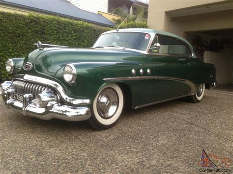 1952 buick 8 pillarless 2 door coupe