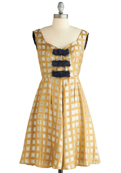 Dress Square 2 handle with square dress mod retro vintage dresses