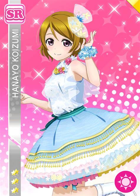 live school idol festival card template koizumi hanayo live image 2183174 zerochan