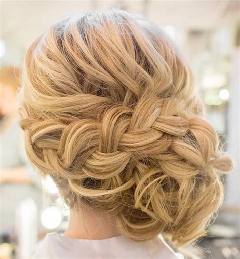 updos for hair one length 20 killer romantic wedding updos for medium hair wedding