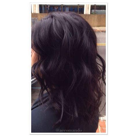 blackberry hair color crushed blackberry hair colour beautyhair stylecolour