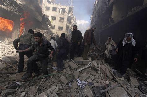 imagenes fuertes de la guerra en siria guerra en siria putin quiere cortar la cabeza a assad