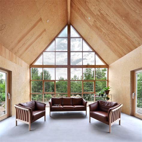 living room  windows house architecture design