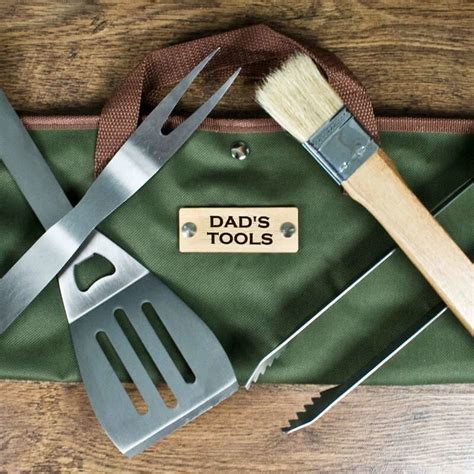 personalised bbq tools set buy from prezzybox com