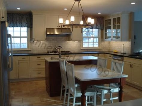 Kitchen Table And Island Combinations Kitchen Island Table Combination