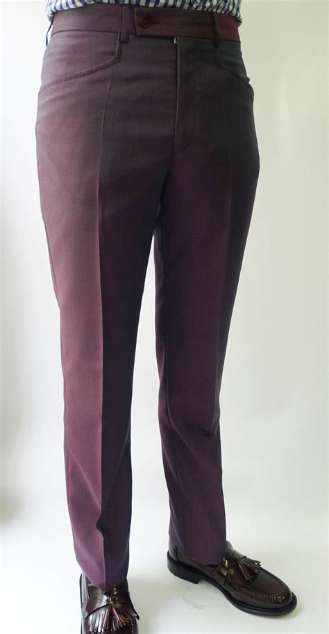 Two Tone 3 ply mohair two tone purple tonic suit by jtg jump the gun