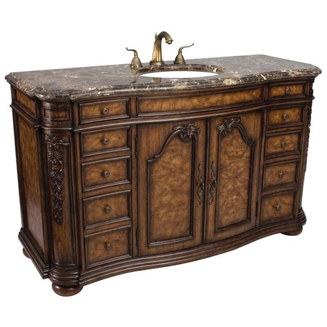 60 bathroom vanity single sink ambella home trenton large 60 antique single sink